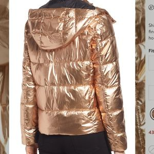 Spyder Metallic Puffer Jacket